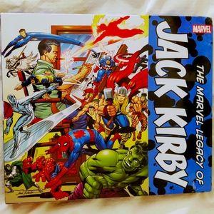 UNOPENED. Marvel Hard Back Jack Kirby Collection..
